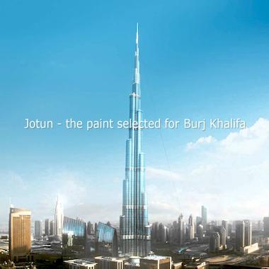 Jotun Paints Burj Khalifa